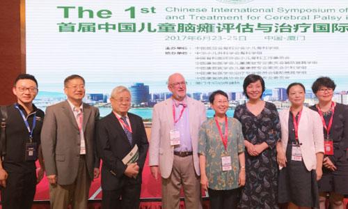 徐磊老师与美国最顶尖医疗集团专家Liu xue-Cheng等合影(左一为徐磊老师)